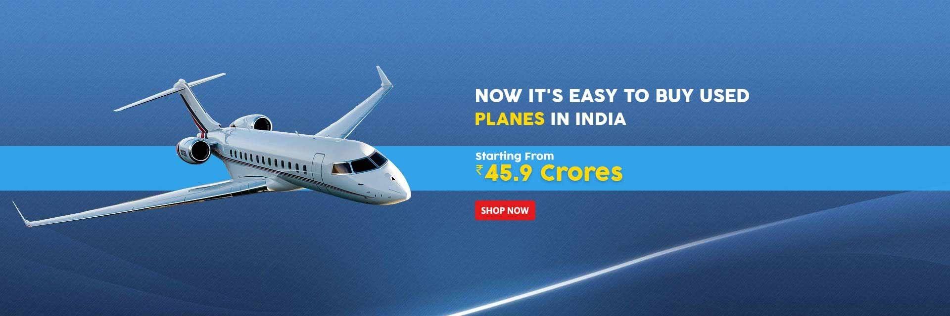 Buy planes in India