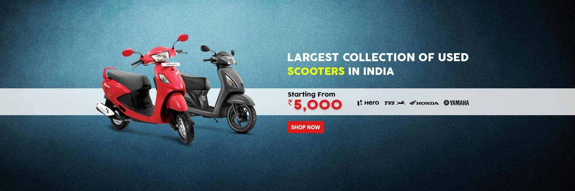 Buy Scooters in India